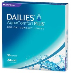 DAILIES AquaComfort Plus Multifocal 90 Pack Contacts